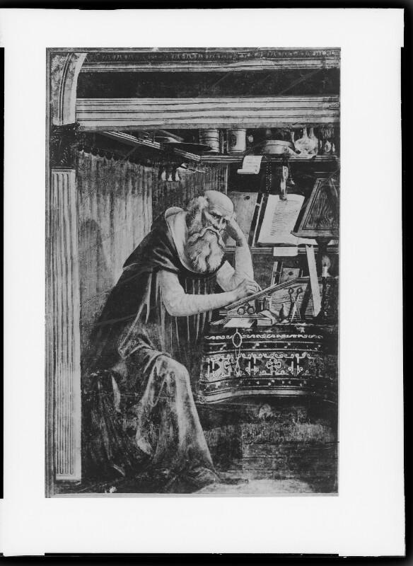 Heiliger Hieronymus im Gehäuse