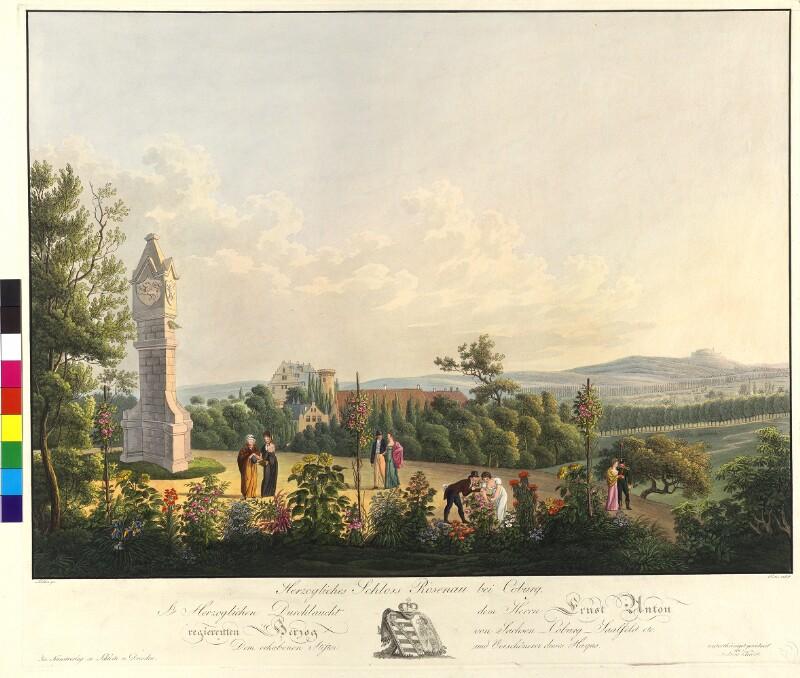 Herzogliches Schloss Rosenau bei Coburg von Richter, Franz