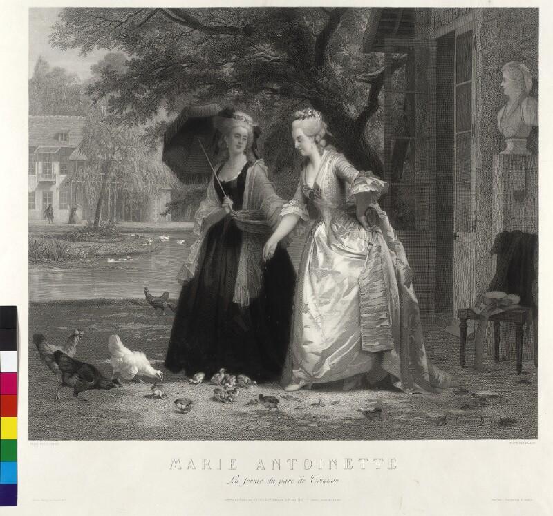 Marie Antoinette, Königin von Frankreich von Ballin, Joel