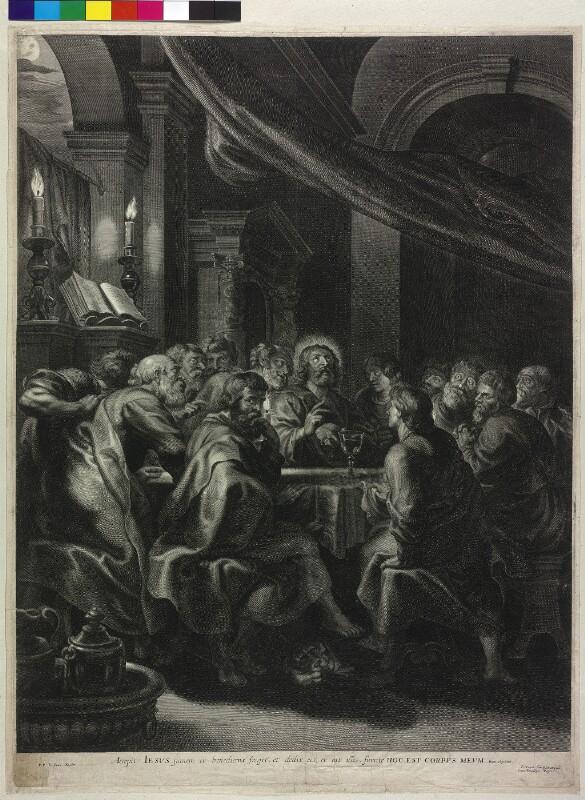 Das letzte Abendmahl von Rubens, Peter Paul