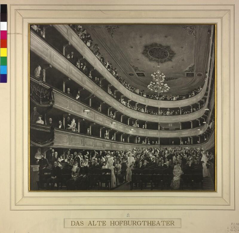 Wien 1, Altes Burgtheater von Klimt, Gustav