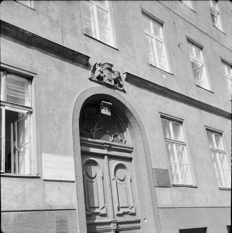 Wien 3, Beatrixgasse 26 von Zessner-Spitzenberg, Brigitta