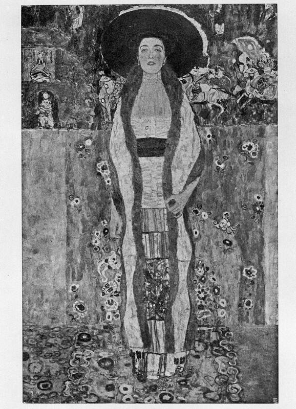 Bildnis Adele Bloch-Bauer von Klimt, Gustav