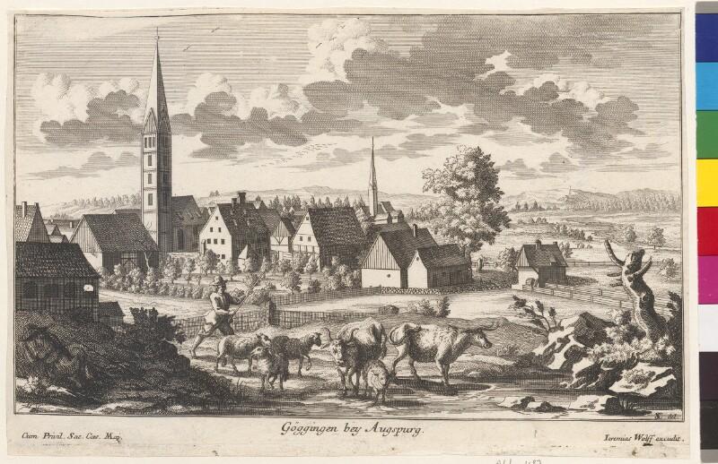Göggingen bey Augsburg von Wolf, Jeremias