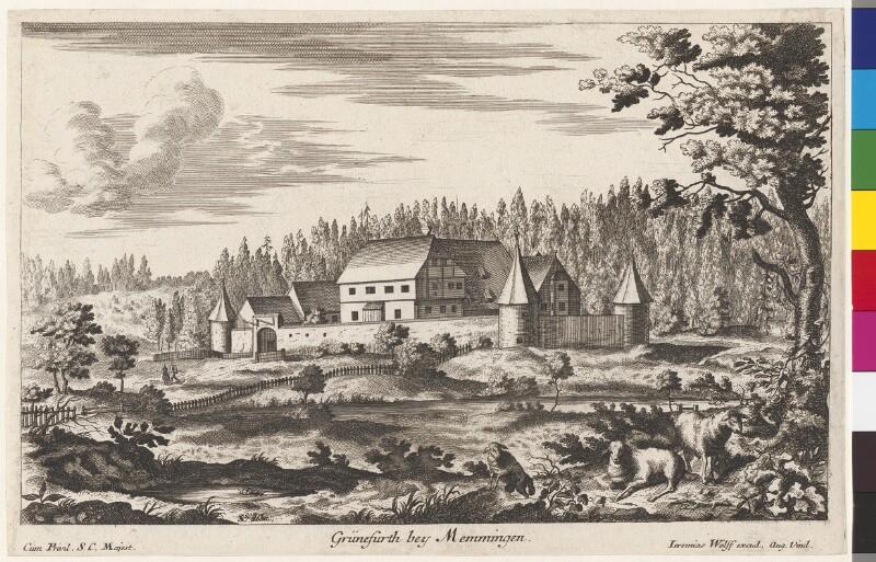 Grünefurth bey Memmingen von Wolf, Jeremias