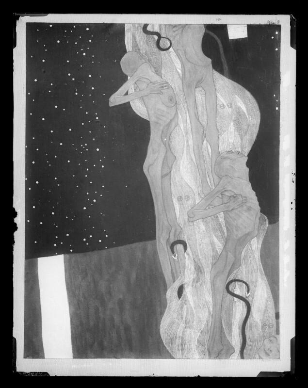Aus dem Reich des Todes von Klimt, Gustav