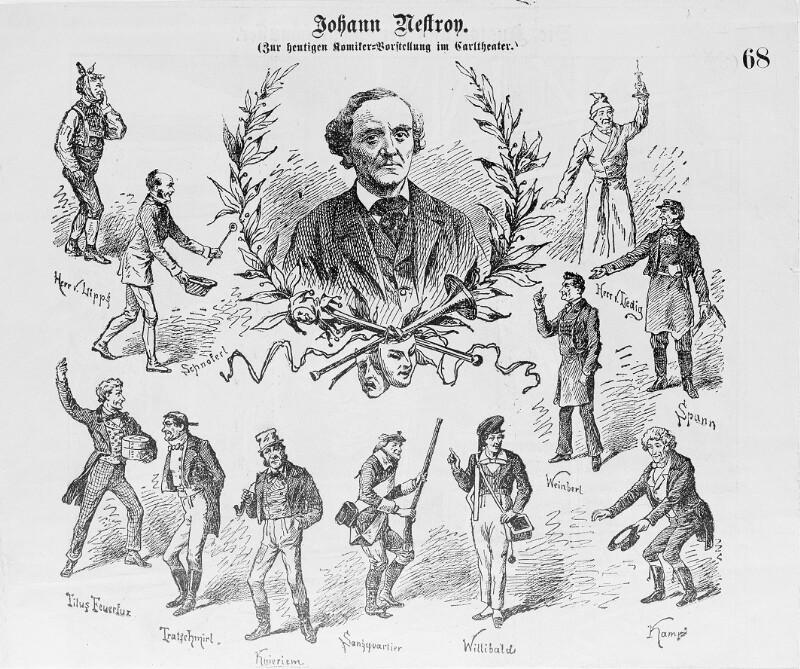 Nestroy, Johann von Nestroy, Johann