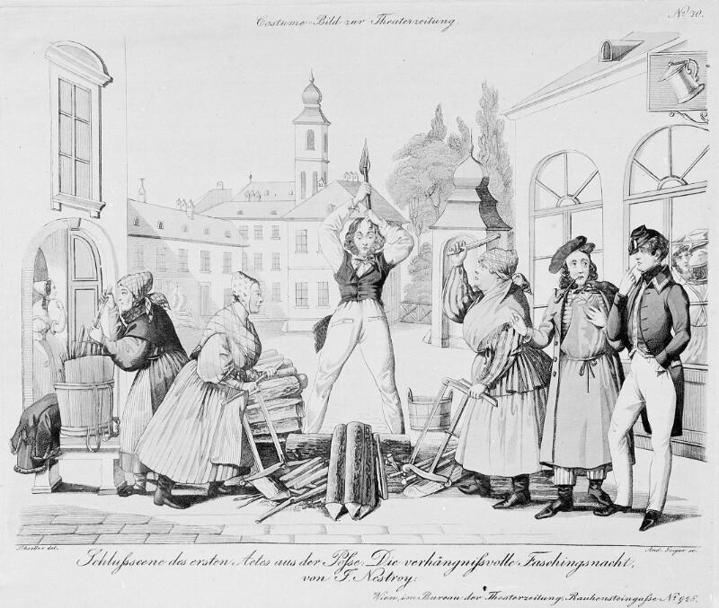 Nestroy, Johann von Geiger, Andreas