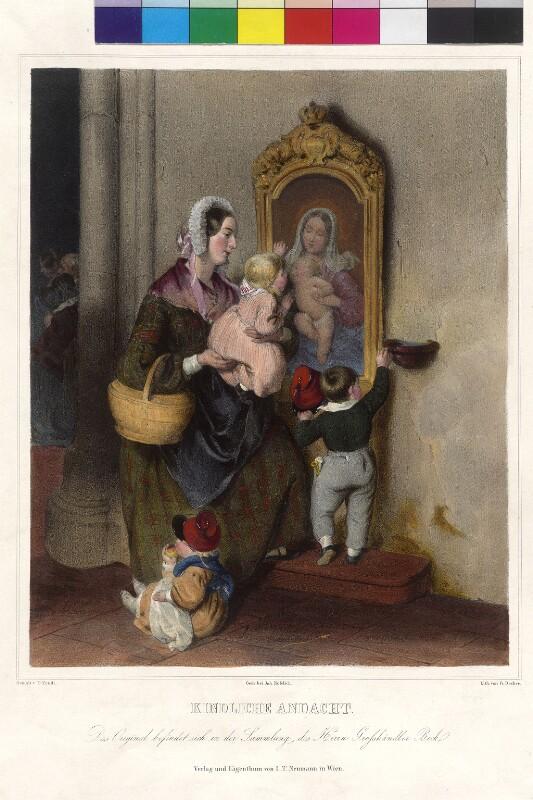 Kindliche Andacht von Decker, Gabriel