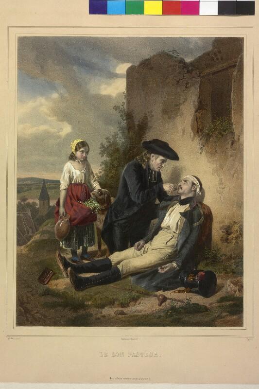 Der barmherzige Pfarrer von Roehn, Alphonse