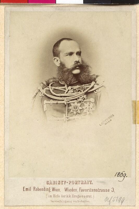 Franz Joseph I., Kaiser von Österreich von Rabending, Emil