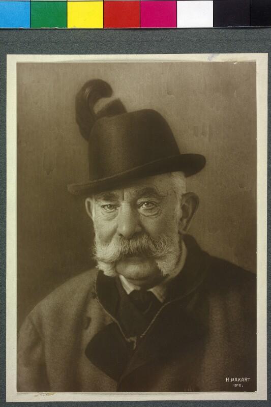 Franz Joseph I., Kaiser von Österreich von Makart, Hans
