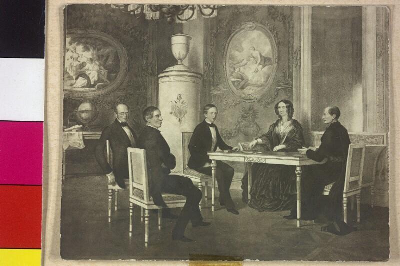 Franz Joseph I., Kaiser von Österreich im Unterricht von Laufberger, Ferdinand
