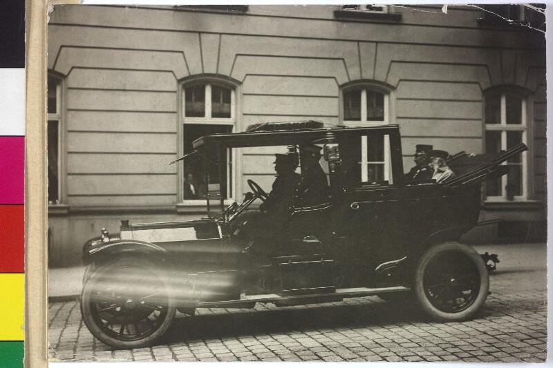 Franz Joseph I., Kaiser von Österreich und Kaiser Wilhelm II. von Seebald, Karl