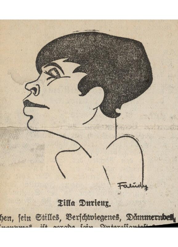 Durieux, Tilla   von Faludy, B. M.
