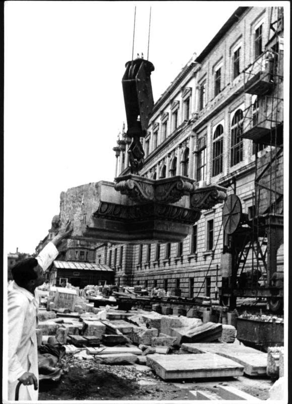 Wiederaufbau der Universität Wien von Hilscher, Albert