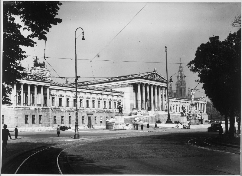 Wien 1, Parlament von Hilscher, Albert