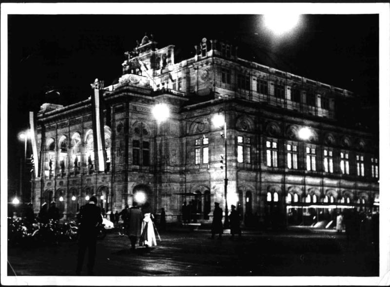 Eröffnung der Wiener Staatsoper von Hilscher, Albert