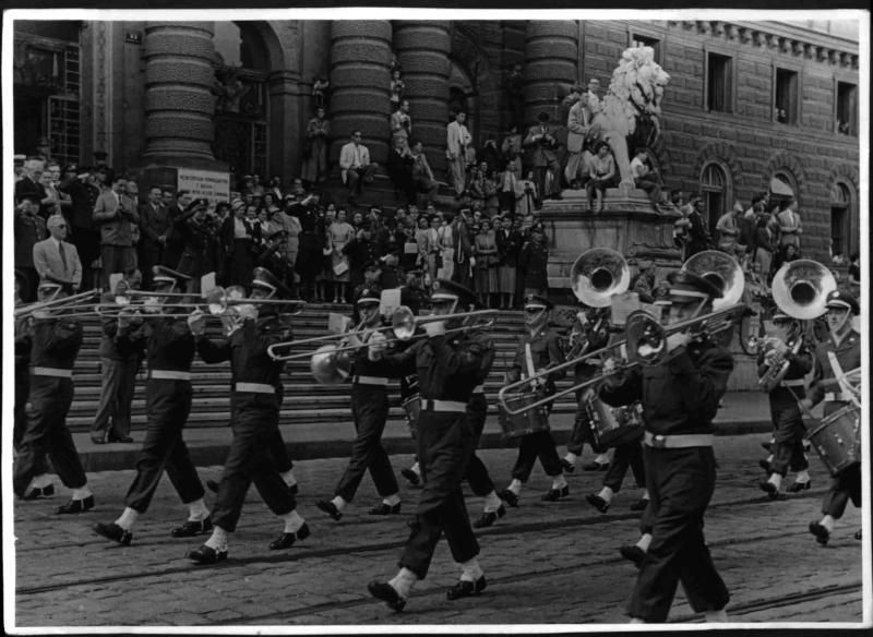 Letzte Parade der Alliierten von Hilscher, Albert