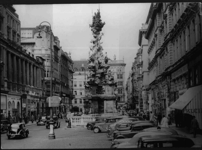Der Graben in Wien von Hilscher, Albert