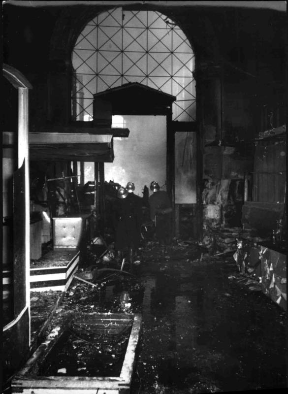 Brand der Wiener Börse von Hilscher, Albert