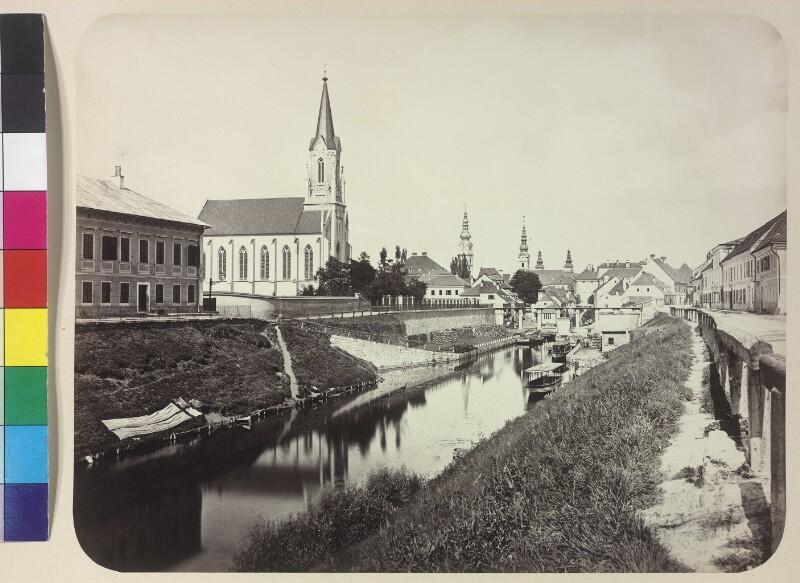 Lendkanal in Klagenfurt, Kärnten von Reiner, Johann