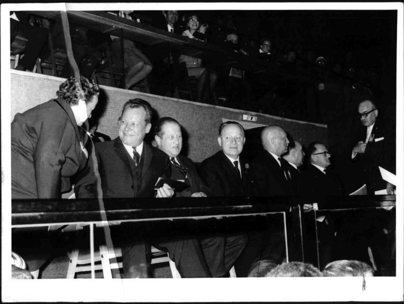 Willy Brandt in Österreich von Blaha, Franz