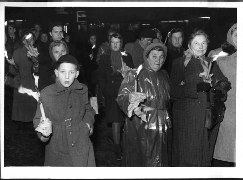 Frauen-Schweigemarsch von Blaha, Franz