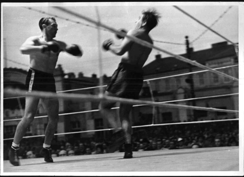 Boxkampf am Heumarkt von Blaha, Franz