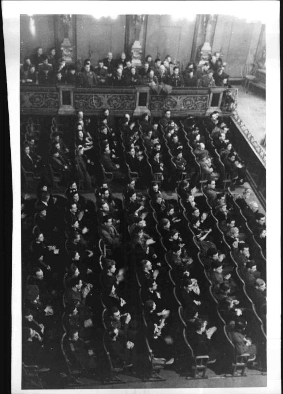 Russischer Chor im Musikverein von Blaha, Franz
