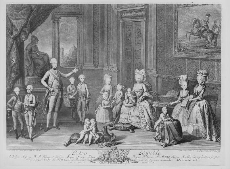 Leopold II., römisch-deutscher Kaiser von Eredi, Benedetto