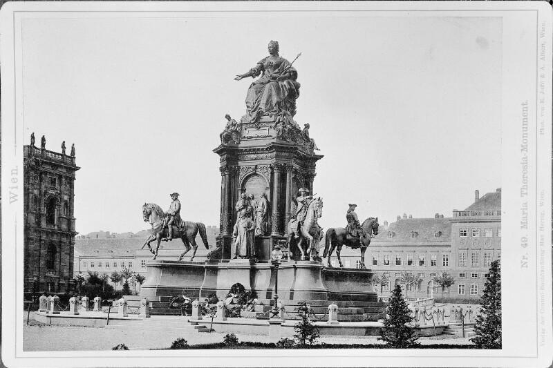 Wien 1, Maria-Theresien-Denkmal von Jaffé, E.