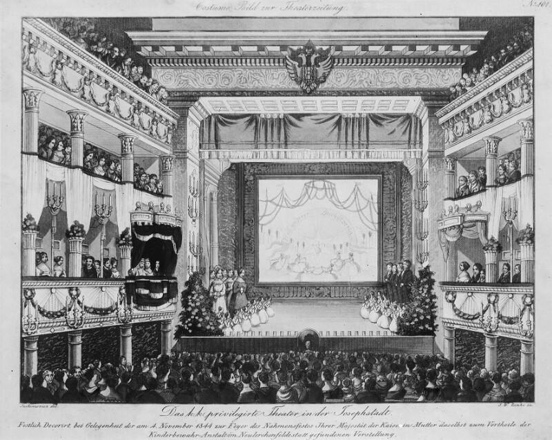 Wien, 8, Theater in der Josefstadt von Jachimowicz, Theodor