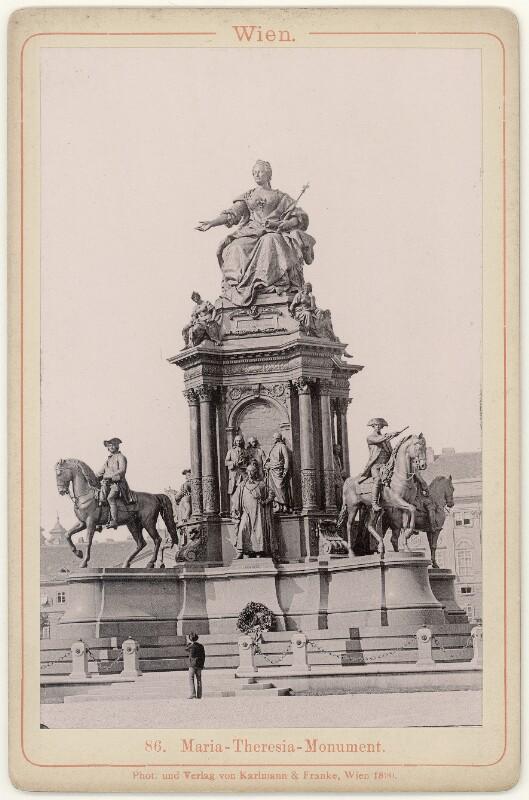 Wien 1, Maria-Theresien-Denkmal von Karlmann & Franke