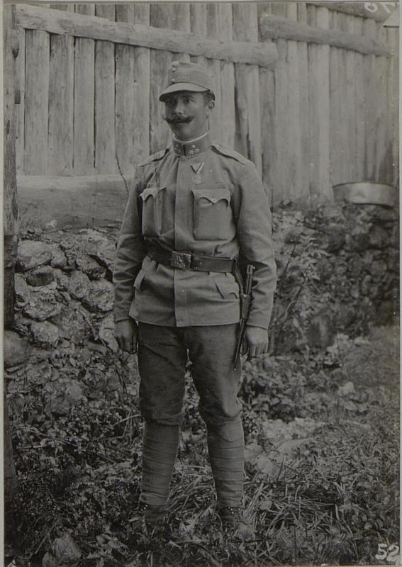 Zugsführer LEIPERT Josef, des k.u.k.Infanterie Regiment Nro. 100, 2. Bataillon. von K.u.k. Kriegspressequartier, Lichtbildstelle - Wien