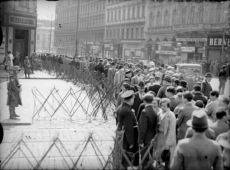 Demonstrationsverbot am Ersten Mai 1933