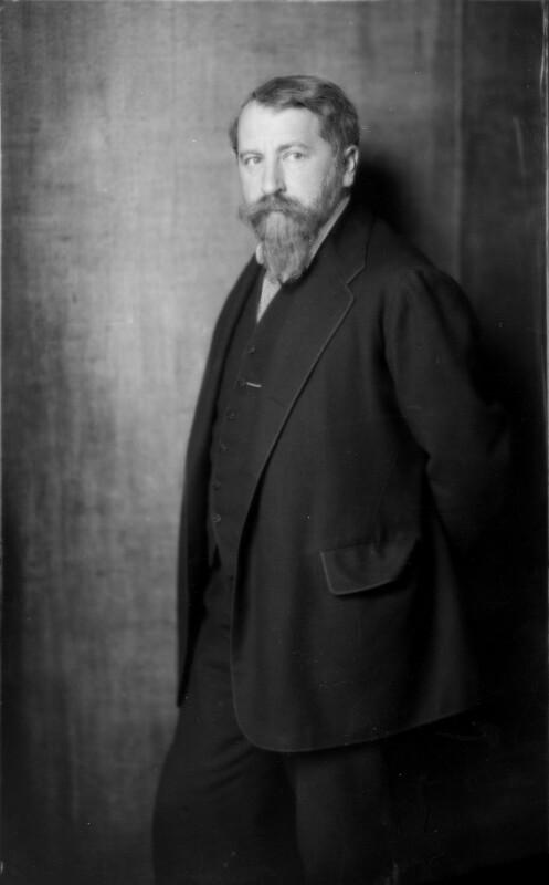 Arthur Schnitzler von D'Ora-Benda, Atelier