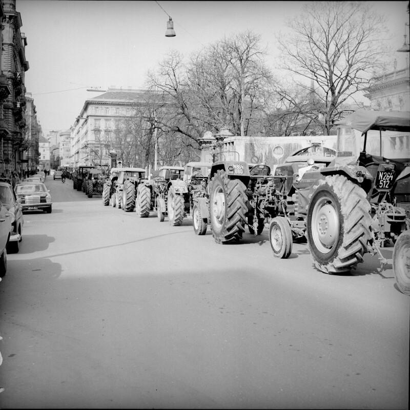 Bauerndemonstration von Simoner, Otto