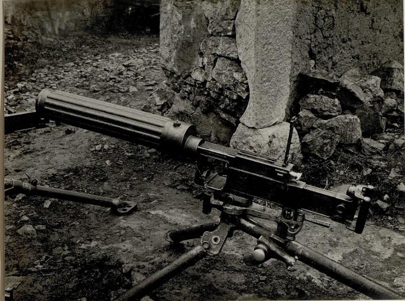 Revolver M.G. von K.u.k. Kriegspressequartier, Lichtbildstelle - Wien