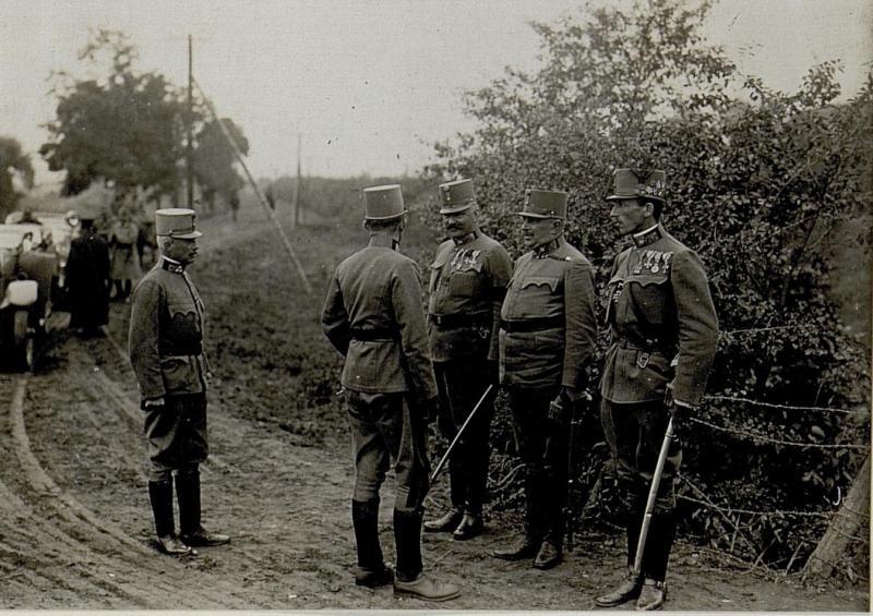 Besichtigung des Kommandos der 2.Kavalleriedivision der 7. Armee am 24.8.1916 von K.u.k. Kriegspressequartier, Lichtbildstelle - Wien