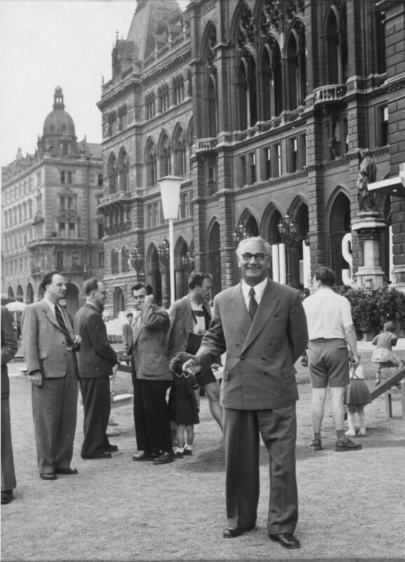 Bürgermeister Franz Jonas von Pressestelle der Stadt Wien