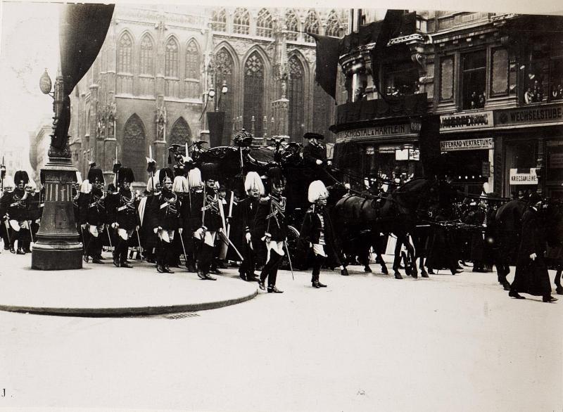 Begräbnis Von Kaiser Franz Joseph Kuk Kriegspressequartier