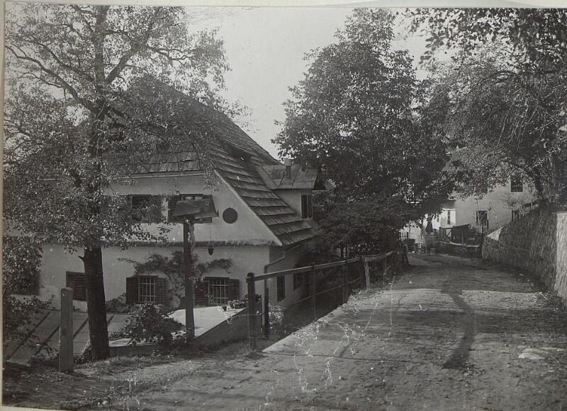Radmannsdorf, Häusergruppe, von K.u.k. Kriegspressequartier, Lichtbildstelle - Wien