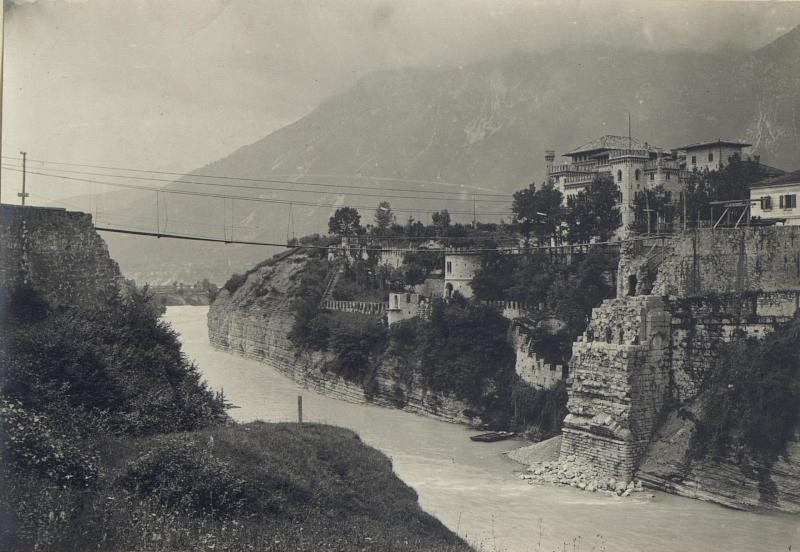 Castel Ponte nelli Alpe. von K.u.k. Kriegspressequartier, Lichtbildstelle - Wien
