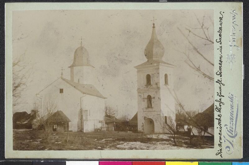 Die Armenische Kirche zum Hl. Simeon in Suczawa von Chrzanowski, J.