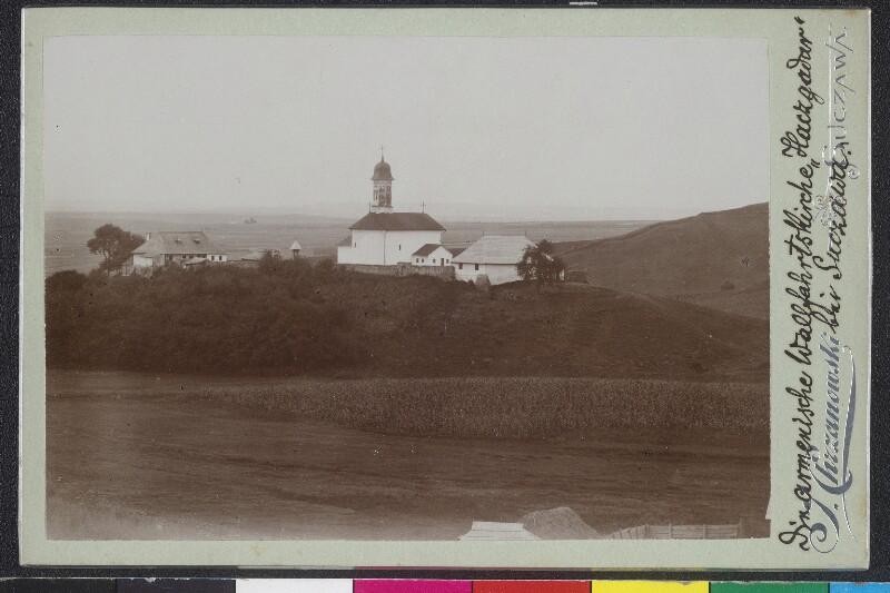 Die armenische Wallfahrtskirche Haczgadar bei Suczawa von Chrzanowski, J.