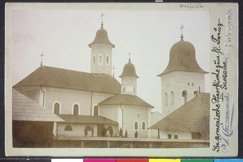 Die armenische Pfarrkirche zum hl. Kreuz in Suczawa von Chrzanowski, J.