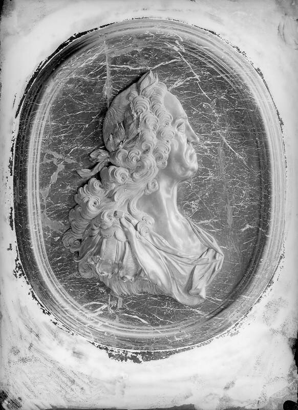 Reliefdarstellung von Karl IV., römisch-deutscher Kaiser von Burger, Wilhelm