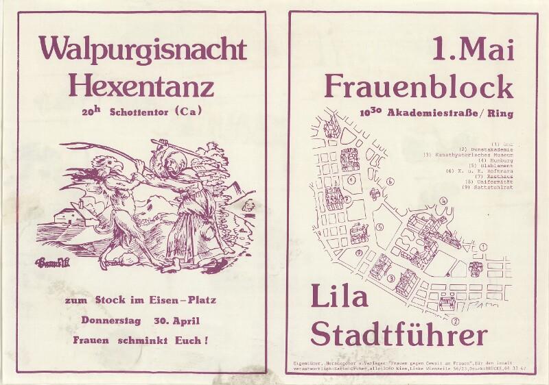 Lila Stadtführer