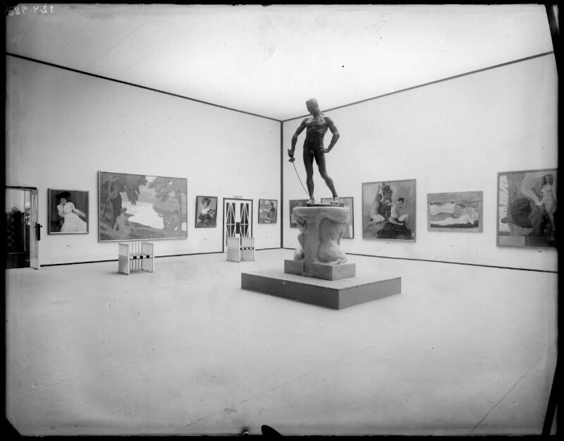 Wien, 20 Ausstellung in der Secession von Klimt, Gustav